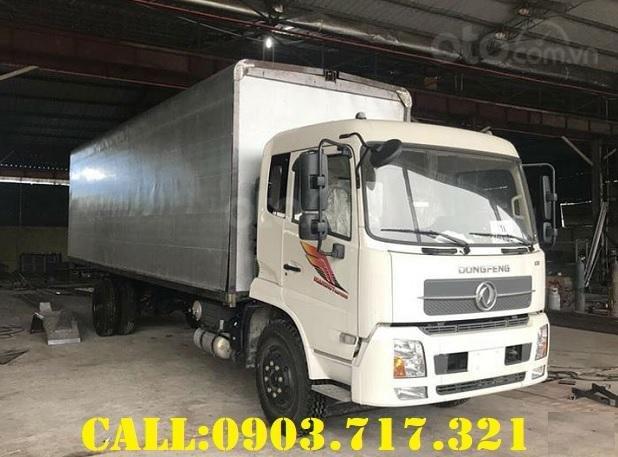 Cần bán xe tải DongFeng thùng kín cánh dơi mới 2021, giá hỗ trợ vay vốn năm 2021 (1)