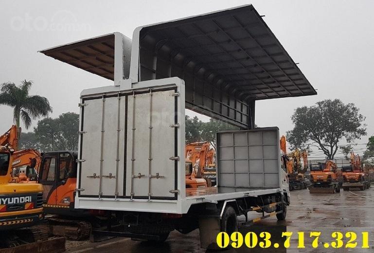 Cần bán xe tải DongFeng thùng kín cánh dơi mới 2021, giá hỗ trợ vay vốn năm 2021 (2)
