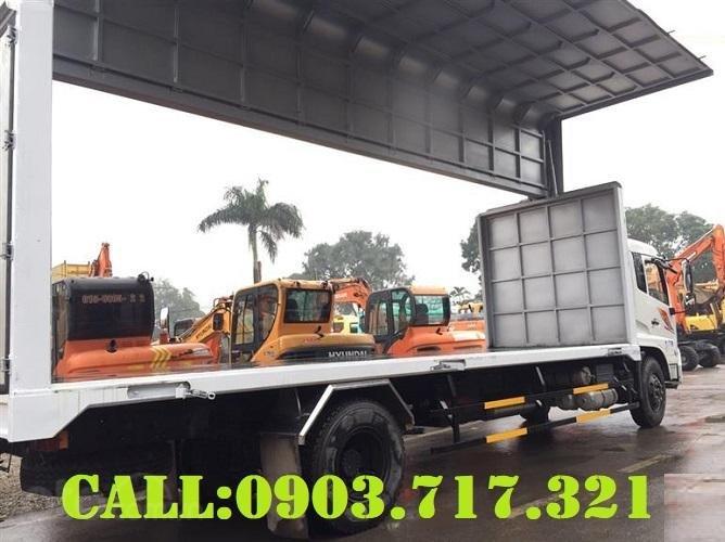Cần bán xe tải DongFeng thùng kín cánh dơi mới 2021, giá hỗ trợ vay vốn năm 2021 (3)