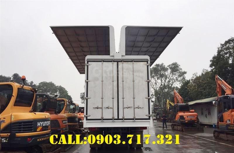 Cần bán xe tải DongFeng thùng kín cánh dơi mới 2021, giá hỗ trợ vay vốn năm 2021 (5)