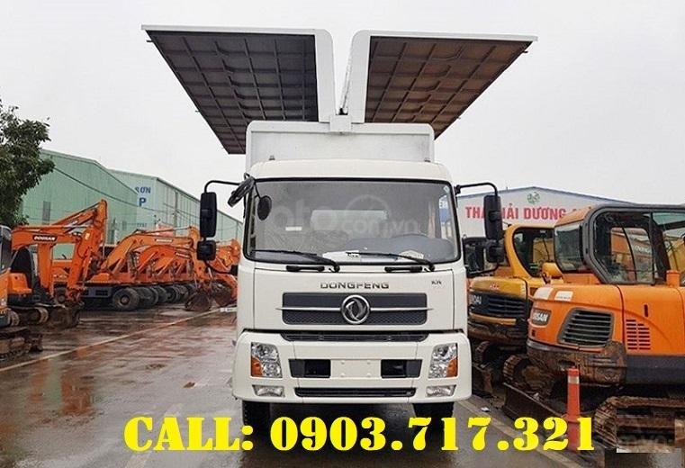 Cần bán xe tải DongFeng thùng kín cánh dơi mới 2021, giá hỗ trợ vay vốn năm 2021 (4)