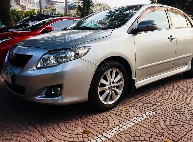 Bán ô tô Toyota Corolla Altis sản xuất 2009, màu bạc  (1)