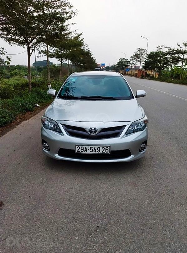 Bán ô tô Toyota Corolla đời 2012, màu bạc còn mới, 498 triệu (1)