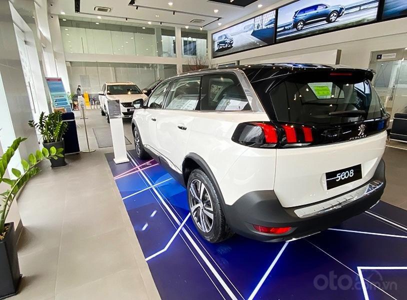 Bán ô tô Peugeot 5008 Active 1.6 AT đời 2020, màu trắng (2)