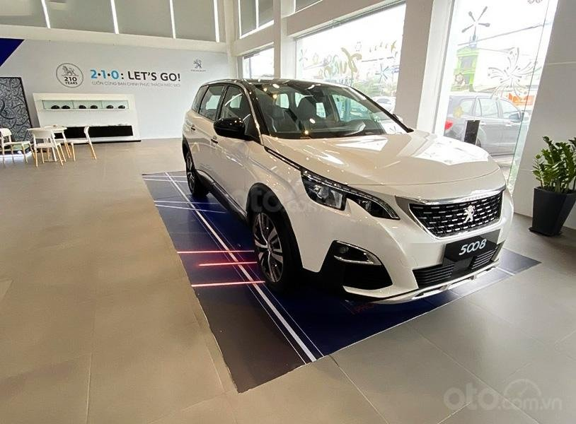 Bán ô tô Peugeot 5008 Active 1.6 AT đời 2020, màu trắng (1)