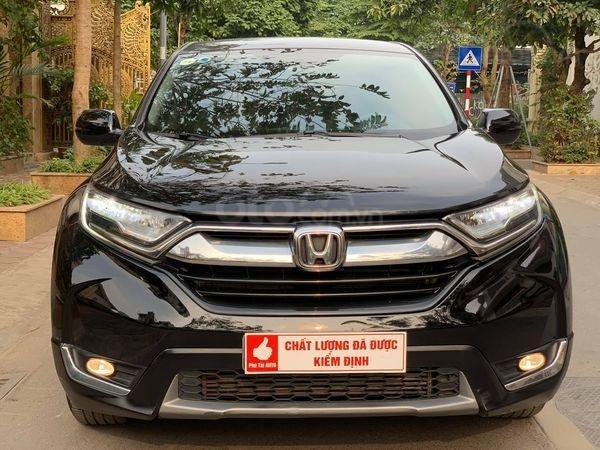 Bán xe Honda CR-V G 1.5AT đời 2018, màu đen, nhập khẩu nguyên chiếc, giá tốt (1)