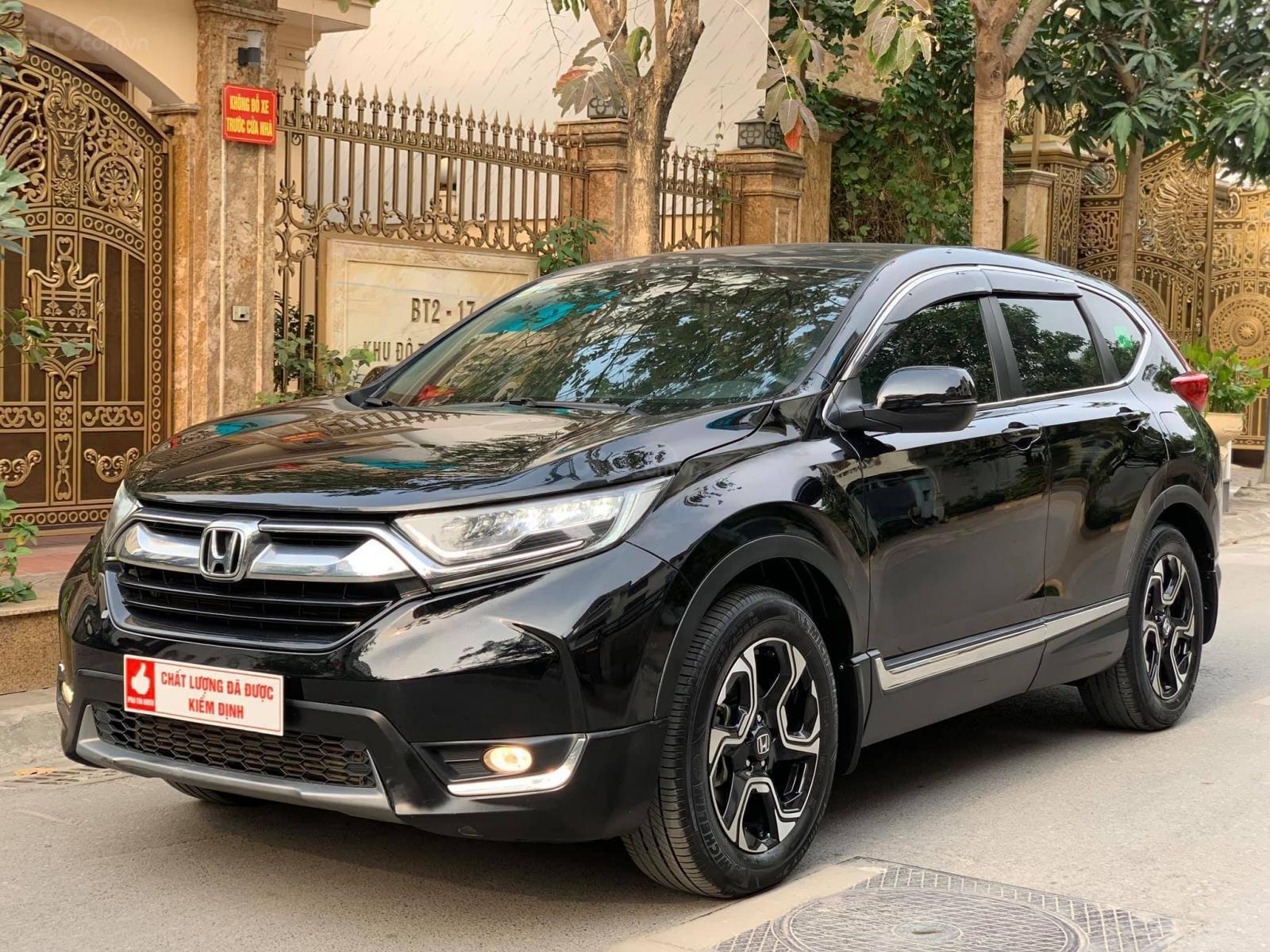 Bán xe Honda CR-V G 1.5AT đời 2018, màu đen, nhập khẩu nguyên chiếc, giá tốt (3)