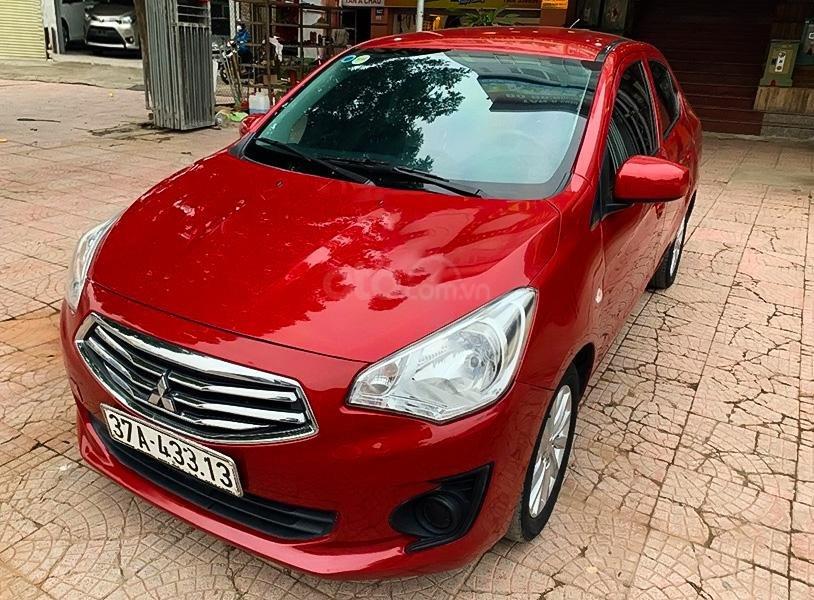 Cần bán Mitsubishi Attrage đời 2017, màu đỏ, nhập khẩu nguyên chiếc (1)