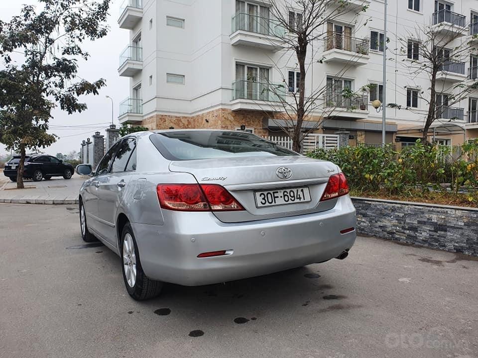 Xe Toyota Camry 2.4G đời 2007, màu bạc còn mới, giá bay nhanh (4)