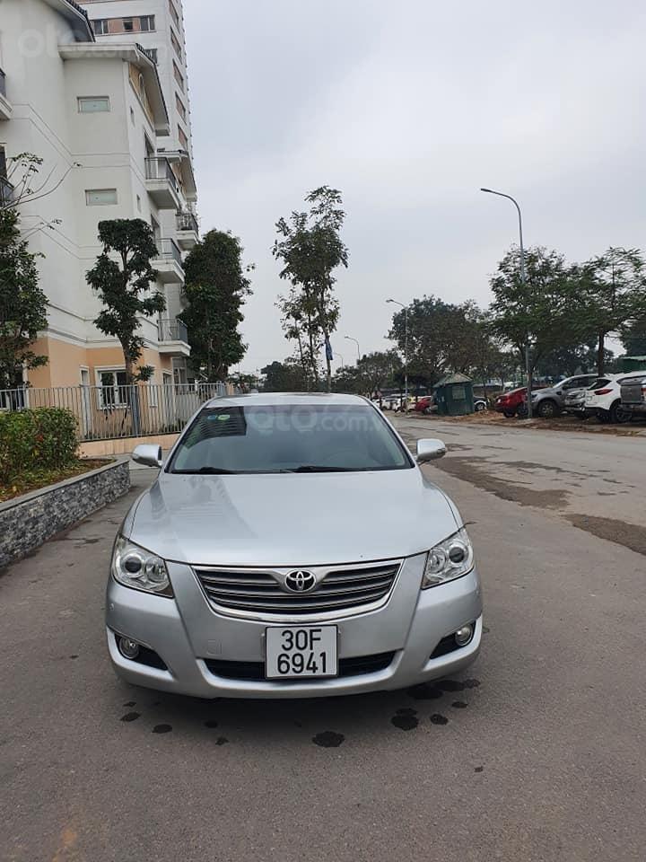 Xe Toyota Camry 2.4G đời 2007, màu bạc còn mới, giá bay nhanh (1)