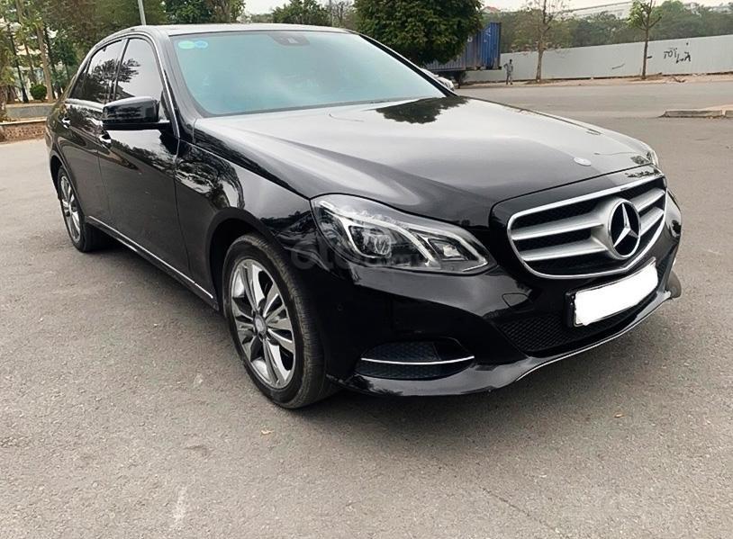 Bán Mercedes E250 đời 2014, màu đen, giá 989tr (1)