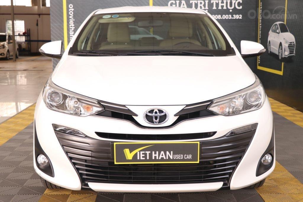 Toyota Vios G 1.5AT 2019, xe bao đẹp, trả góp nhanh chóng (2)