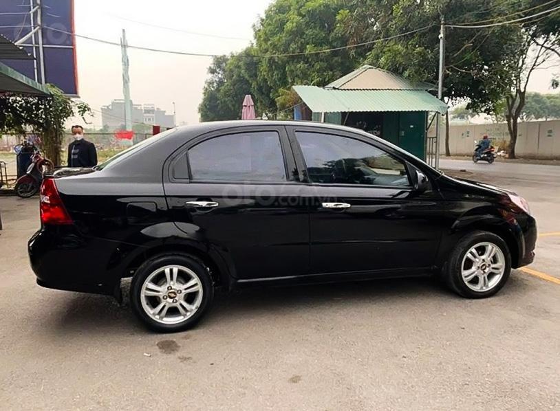 Bán Chevrolet Aveo LT 1.4 MT đời 2018, màu đen (1)