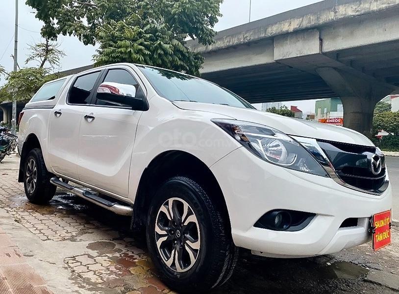Cần bán gấp Mazda BT 50 đời 2018, màu trắng, nhập khẩu  (1)