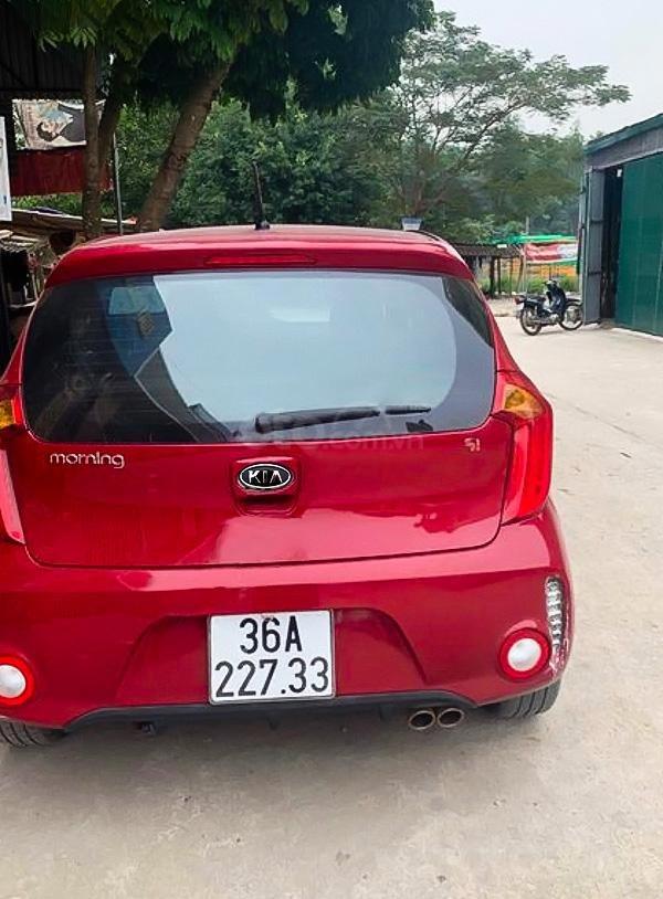 Cần bán Kia Morning Si AT sản xuất năm 2016, màu đỏ  (1)
