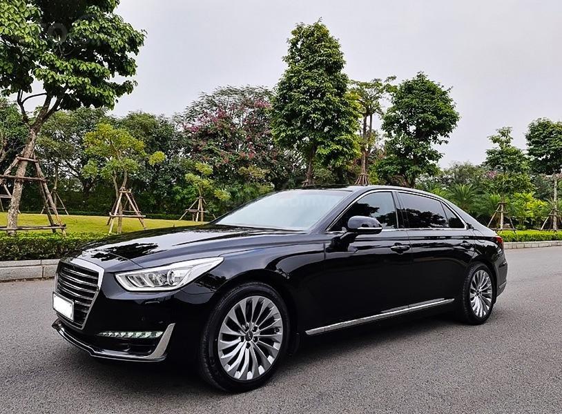 Bán Hyundai Genesis G90 năm 2016, màu đen, nhập khẩu (1)