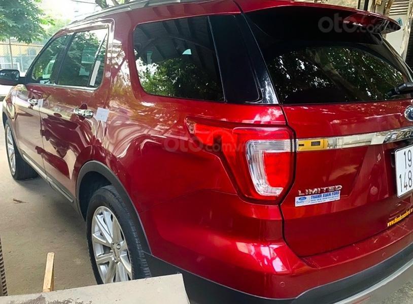 Bán xe Ford Explorer đời 2016, màu đỏ, xe nhập chính chủ (3)