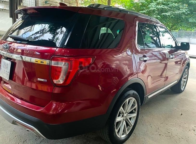 Bán xe Ford Explorer đời 2016, màu đỏ, xe nhập chính chủ (2)