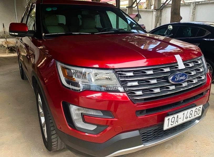 Bán xe Ford Explorer đời 2016, màu đỏ, xe nhập chính chủ (1)