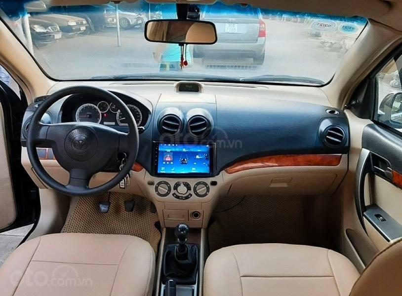 Xe Daewoo Gentra sản xuất 2009, màu đen còn mới, 165tr (2)
