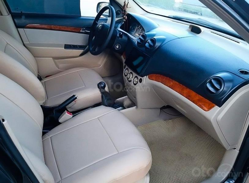 Xe Daewoo Gentra sản xuất 2009, màu đen còn mới, 165tr (3)