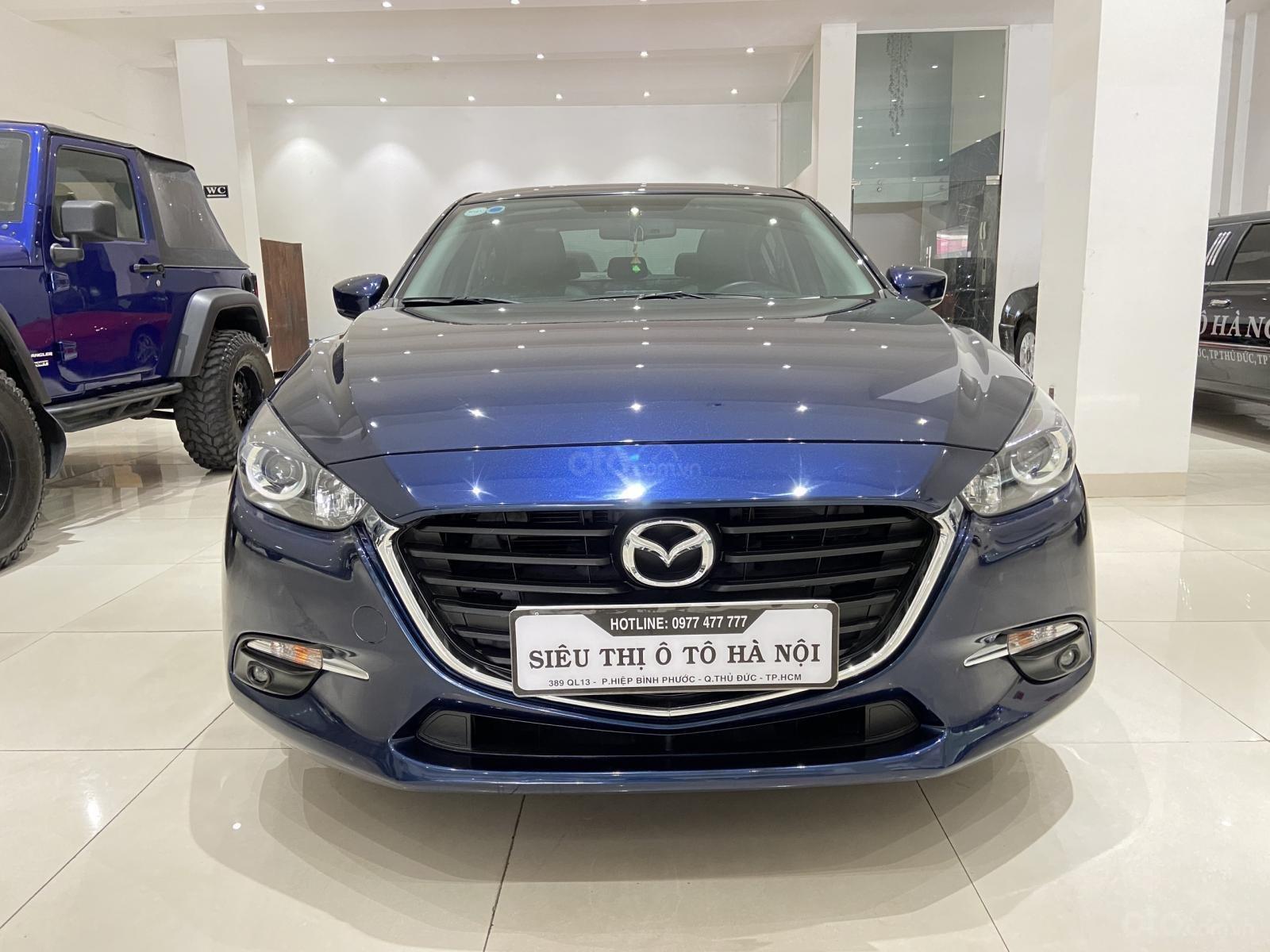Bán xe Mazda 3 năm sản xuất 2019, xe màu xanh lam, xe gia đình mới đi 25.000 km (1)
