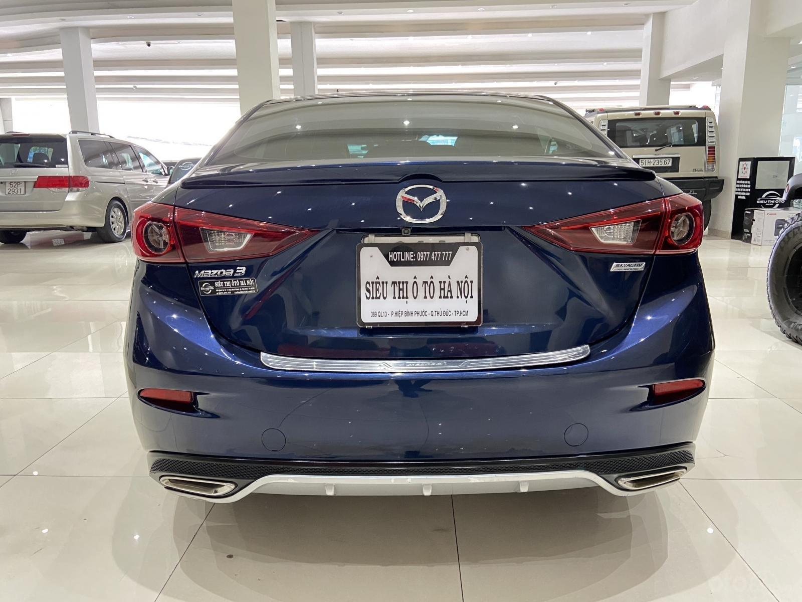 Bán xe Mazda 3 năm sản xuất 2019, xe màu xanh lam, xe gia đình mới đi 25.000 km (4)
