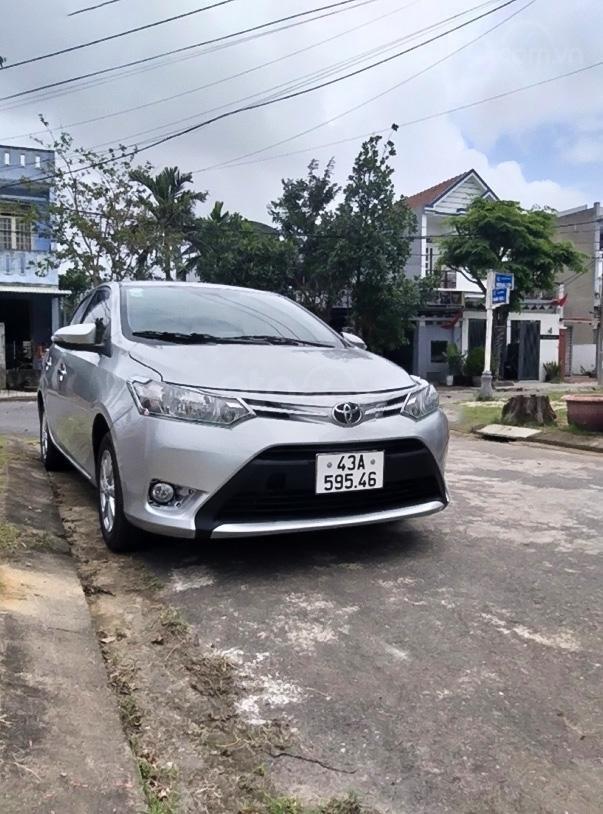 Bán Toyota Vios 1.3 Limo đời 2015, màu bạc còn mới, giá chỉ 295 triệu (1)