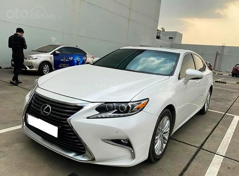 Bán Lexus ES 250 năm sản xuất 2016, màu trắng, nhập khẩu  (1)