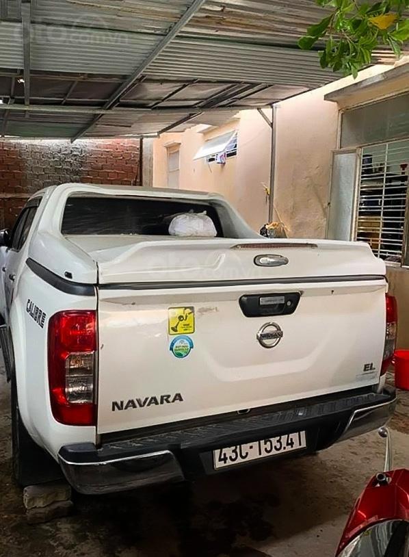 Bán ô tô Nissan Navara sản xuất năm 2017, màu trắng, xe nhập (2)