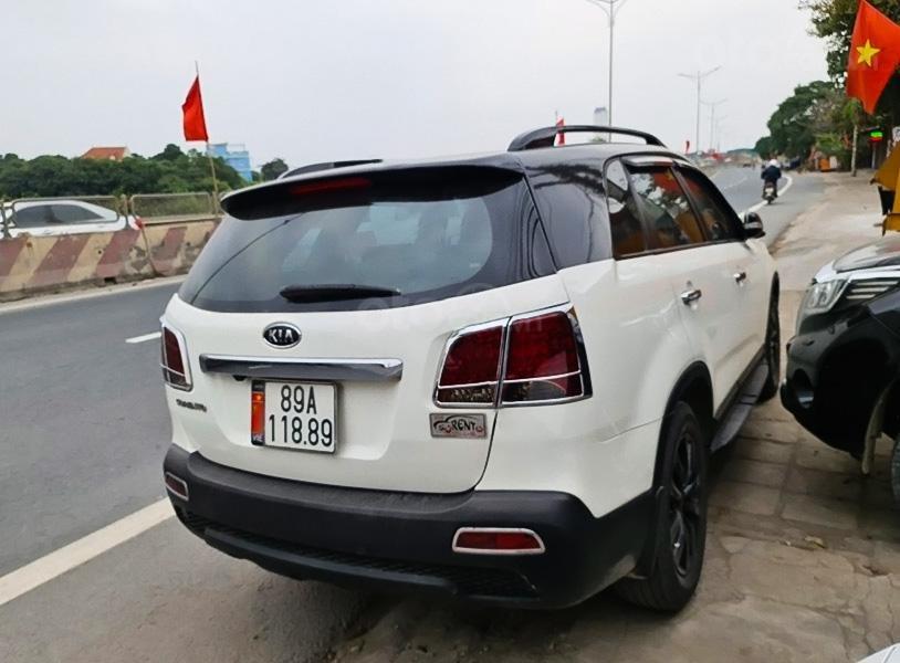 Cần bán lại xe Kia Sorento sản xuất 2012, màu trắng còn mới, giá 465tr (1)