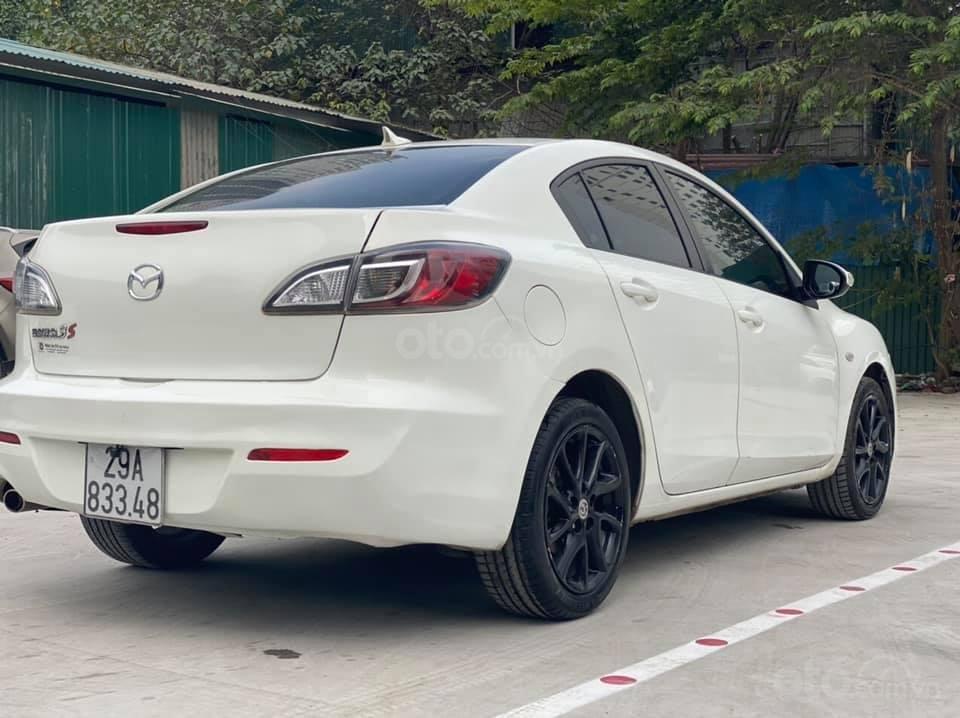 Cần bán Mazda 3S năm sản xuất 2013, màu trắng giá cạnh tranh (4)