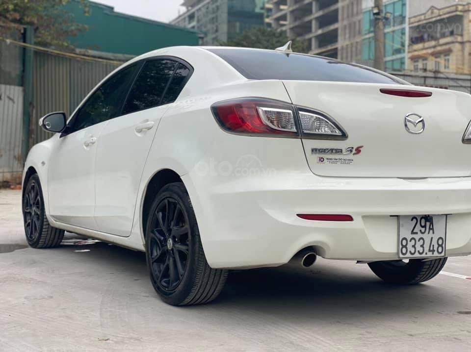 Cần bán Mazda 3S năm sản xuất 2013, màu trắng giá cạnh tranh (5)