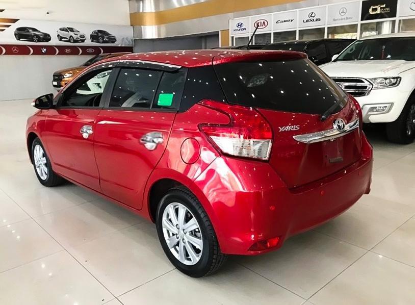 Xe Toyota Yaris 1.5G năm sản xuất 2017, màu đỏ, xe nhập (2)