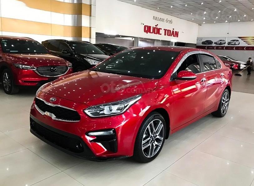 Cần bán lại xe Kia Cerato 2.0AT đời 2020, màu đỏ, giá tốt (1)