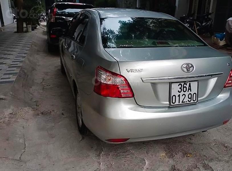 Cần bán lại xe Toyota Vios 1.5G năm 2011, màu bạc, 337 triệu (1)