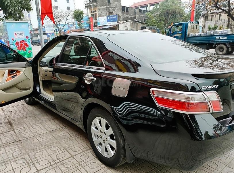 Bán Toyota Camry năm 2008, màu đen, nhập khẩu (2)