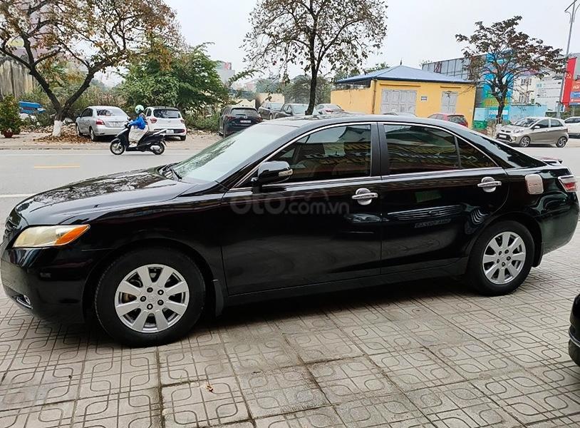 Bán Toyota Camry năm 2008, màu đen, nhập khẩu (1)