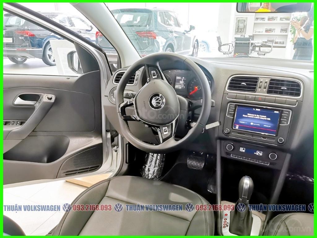 Xe đô thị, giá hợp lý Volkswagen Polo Hatchback 2021 màu Silver Metallic nhập nguyên chiếc giao ngay, khuyến mãi hấp dẫn (6)