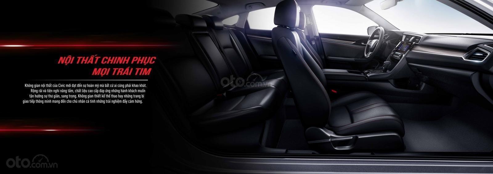 [Honda Civic 2020] Khuyến mãi khủng giảm tiền mặt + phụ kiện, nhận xe ngay chỉ với 230 triệu (4)