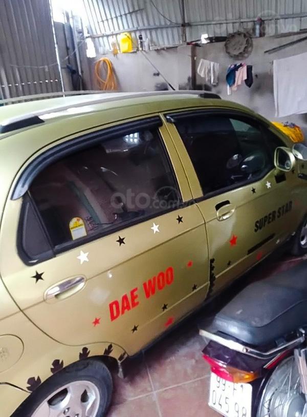 Cần bán gấp Daewoo Matiz năm sản xuất 2009, màu xanh lam, nhập khẩu còn mới, giá 83tr (2)