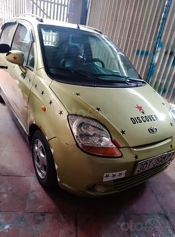 Cần bán gấp Daewoo Matiz năm sản xuất 2009, màu xanh lam, nhập khẩu còn mới, giá 83tr (1)