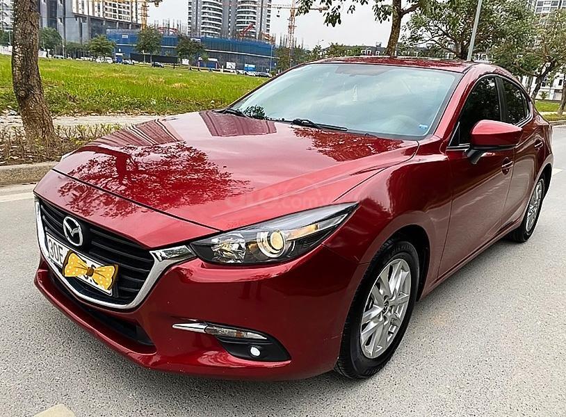 Cần bán xe Mazda 3 sản xuất năm 2017, màu đỏ còn mới, giá 575tr (1)
