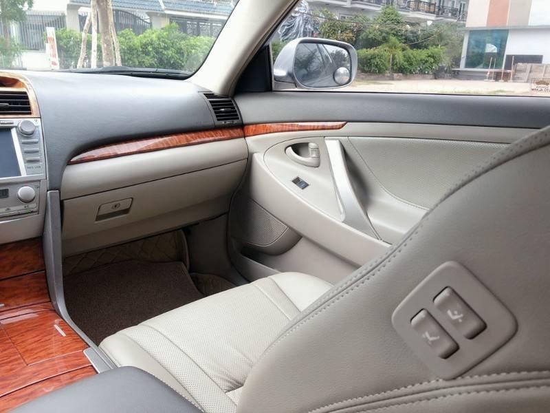 Cần bán Toyota Camry năm sản xuất 2008, màu bạc, nhập khẩu chính chủ, giá 488tr (10)