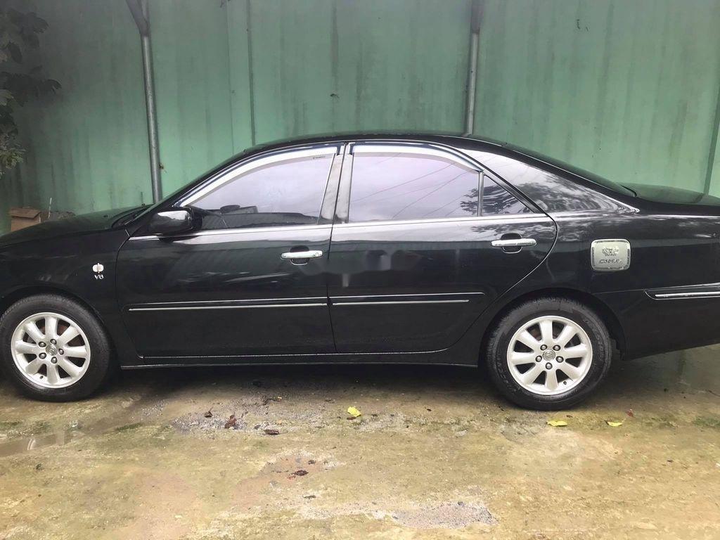 Cần bán gấp Toyota Camry năm sản xuất 2003, màu đen, nhập khẩu (2)