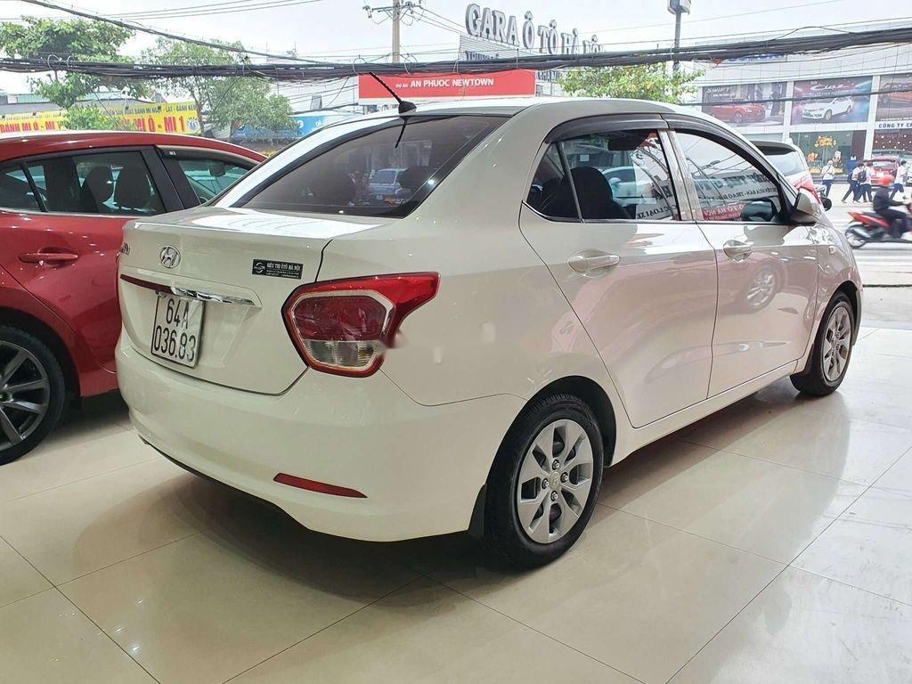 Cần bán gấp Hyundai Grand i10 sản xuất 2016, màu trắng, xe nhập còn mới, 275tr (11)