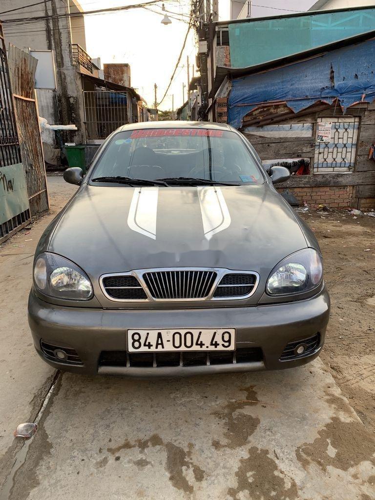 Bán Daewoo Lanos 2002, màu xám, xe nhập chính chủ, giá chỉ 67 triệu (2)