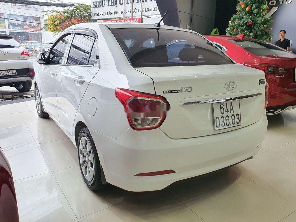 Cần bán gấp Hyundai Grand i10 sản xuất 2016, màu trắng, xe nhập còn mới, 275tr (9)