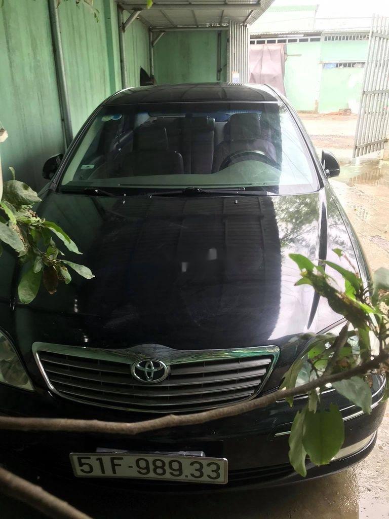 Cần bán gấp Toyota Camry năm sản xuất 2003, màu đen, nhập khẩu (4)