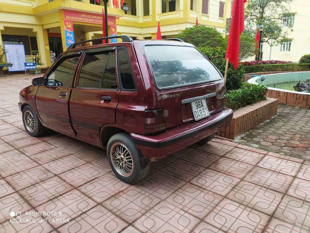 Cần bán lại xe Kia CD5 sản xuất 2000, màu đỏ chính chủ (2)